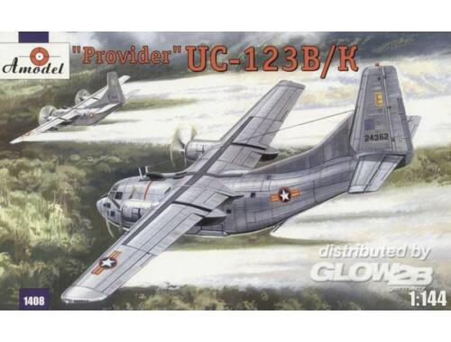 Amodel UC-123K 'Provider' USAF aircraft 1:144 (1408)