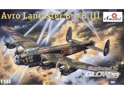 Amodel Avro Lancaster B.I/B.III 1:144 (1411)