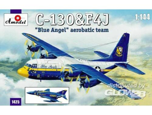 Amodel C-130   F4J 'Blue Angel' Aerobatic team 1:144 (1425)