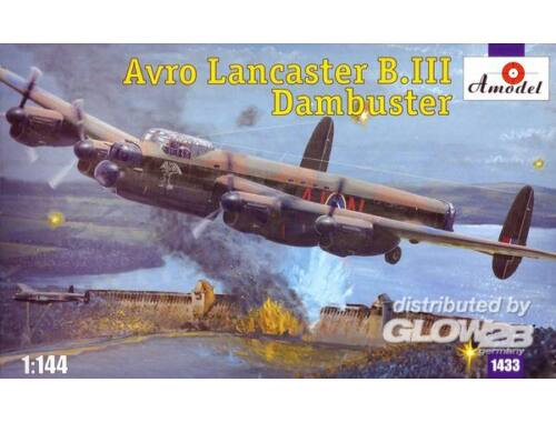 Amodel Avro Lancaster B.III Dambuster 1:144 (1433)