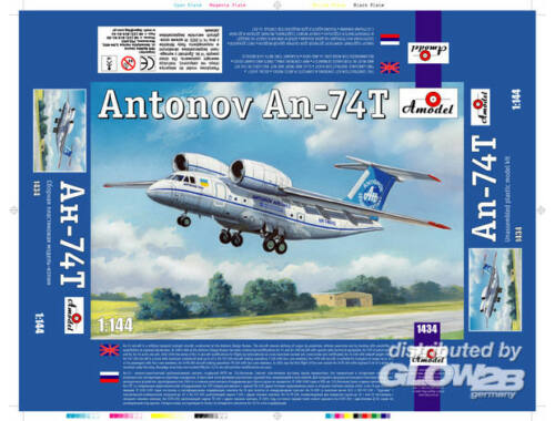 Amodel Antonov An-74T 1:144 (1434)
