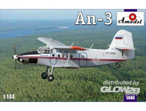Amodel Antonov An-3 Soviet Aircraft 1:144 (1440)