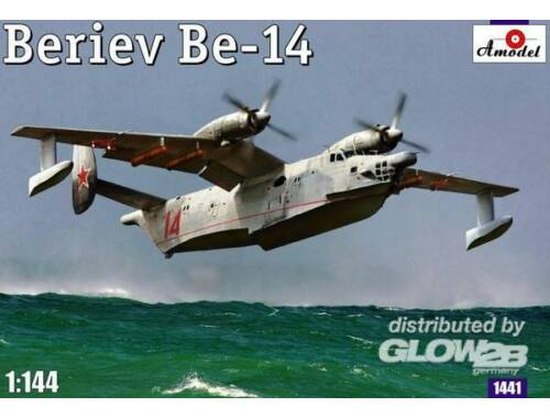 Amodel Beriev Be-14 Soviet rescue aircraft 1:144 (1441)