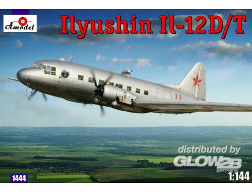 Amodel IIyushin IL-12D/T Sov.milit.transp.aircr 1:144 (1444)