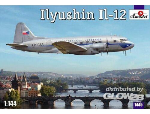 Amodel Ilyushin IL-12 Czech airliner 1:144 (1445)