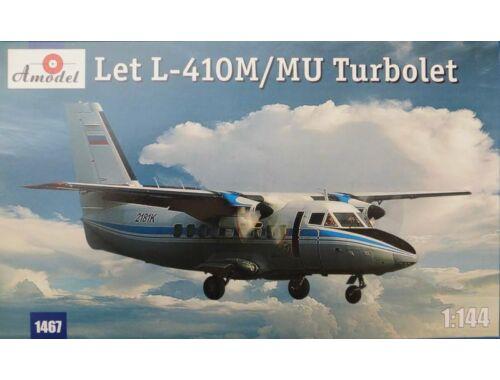 Amodel Let L-410M/MU Turbolet 1:144 (1467)