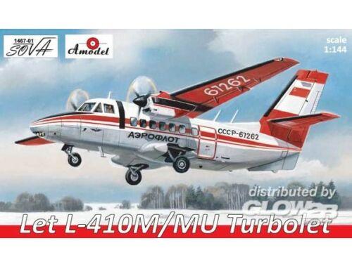 Amodel Let L-410M/MU Turbolet 1:144 (1467-01)