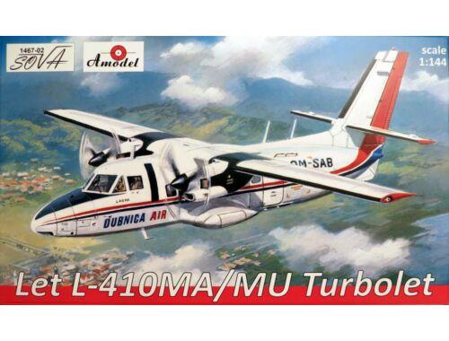 Amodel Let L-410MA/MU Turbolet 1:144 (1467-02)