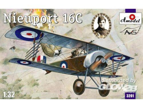 Amodel Nieuport 16C (A134) 1:32 (3201)