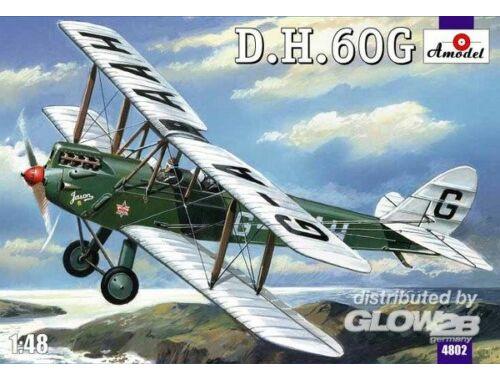 Amodel De Havilland DH.60G Gipsy Moth 1:48 (4802)