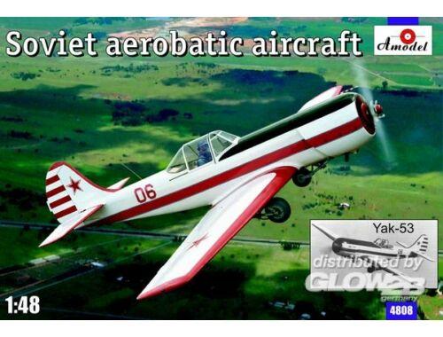 Amodel Yak-53 Soviet aerobatic aircraft 1:48 (4808)