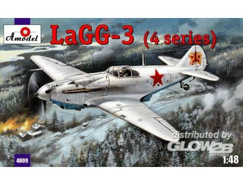 Amodel LaGG-3 (4 series) Soviet fighter 1:48 (4809)