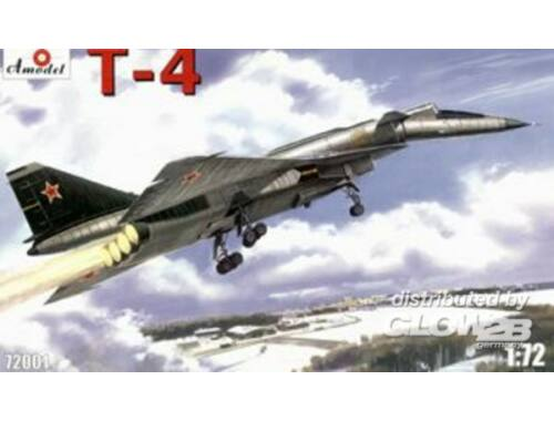 Amodel T-4 (SOTKA) Soviet supersonic strategic 1:72 (72001)