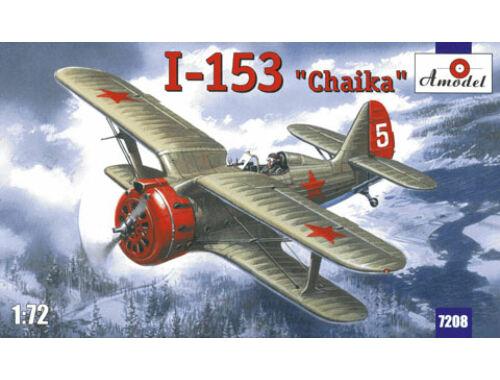 Amodel I-153 Soviet fighter 1:72 (7208)