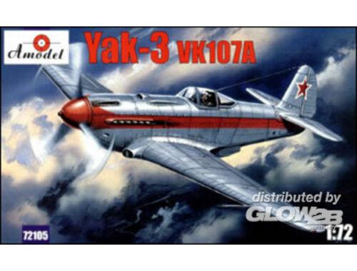 Amodel Yakovlev Yak-3 VK107A Soviet fighter 1:72 (72105)