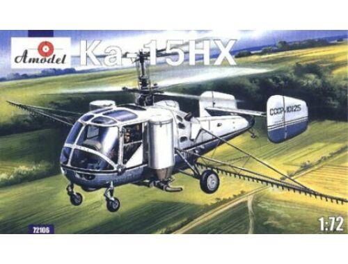 Amodel Kamov Ka-15NH agricultural helicopter 1:72 (72106)