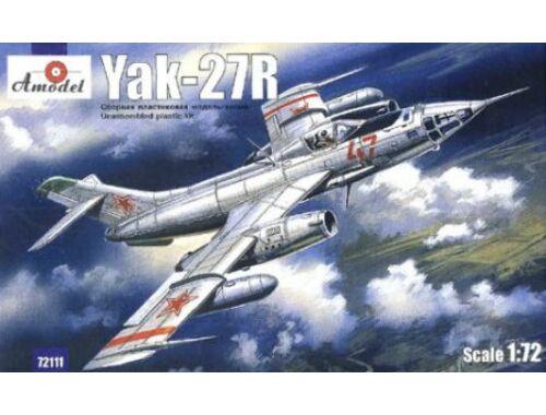 Amodel Yakovlev Yak-27R Soviet interceptor 1:72 (72111)