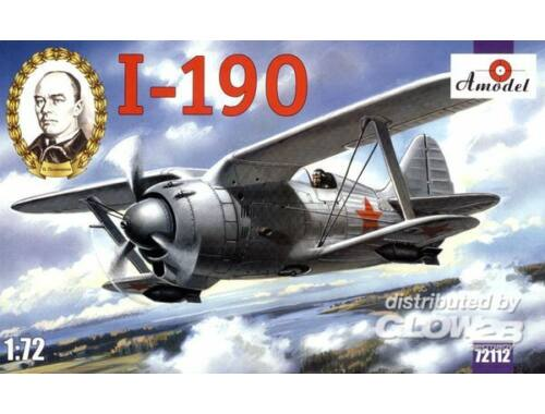 Amodel I-190 Soviet aircraft 1:72 (72112)