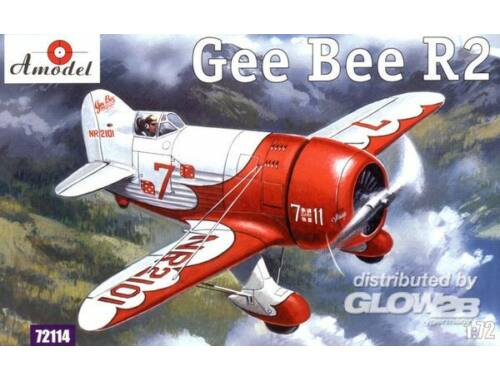 Amodel Gee Bee Super Sportster R2 Aircraft 1:72 (72114)