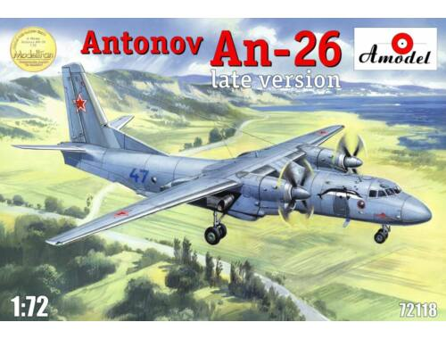 Amodel Antonov An-26, late version 1:72 (72118)