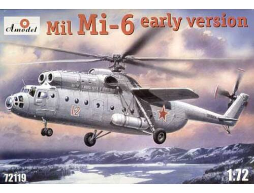 Amodel Mil Mi-6 Soviet helicopter, early 1:72 (72119)
