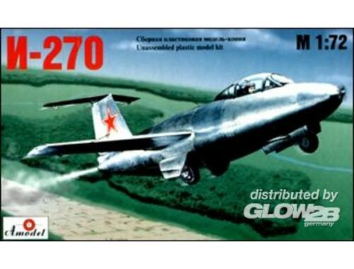 Amodel I-270 Soviet interceptor 1:72 (7212)