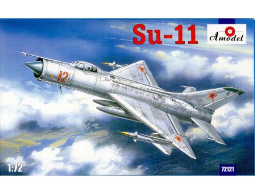 Amodel Su-11 Soviet fighter-interceptor 1:72 (72121)