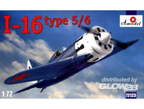 Amodel I-16 type 5/6 Soviet fighter 1:72 (72123)