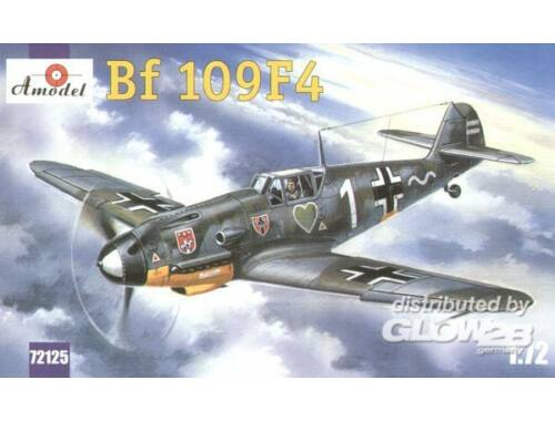 Amodel Messerschmitt Bf-109F4 WWII Ger. fighter 1:72 (72125)