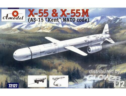 Amodel KH-55   KH-55M 'AS-15 Kent' strategic mi 1:72 (72127)