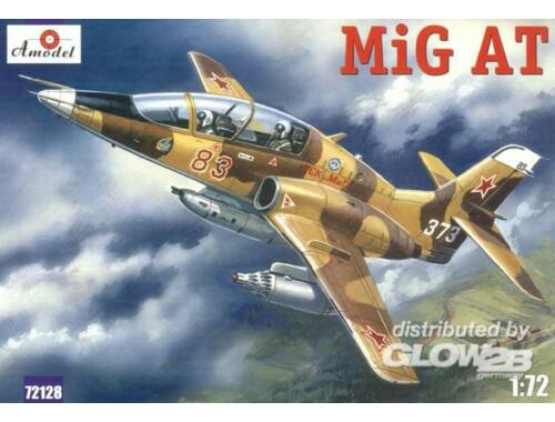 Amodel MiG-AT (late) Russian modern trainer air 1:72 (72128)