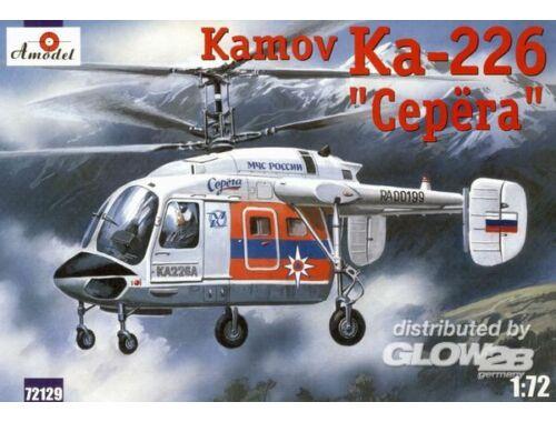 Amodel Kamov Ka-226 'Serega' Russian helicopter 1:72 (72129)