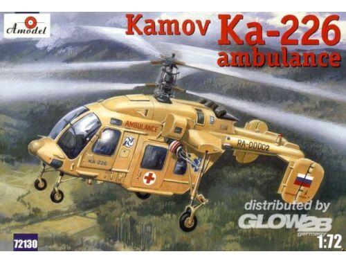 Amodel Kamov Ka-226 Soviet ambulance helicopter 1:72 (72130)
