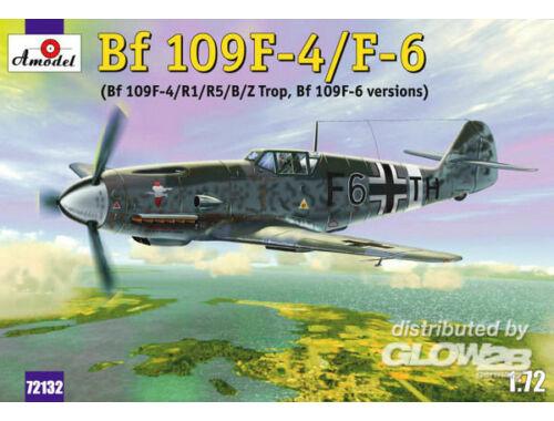 Amodel Messerschmitt Bf-109F4/F6 1:72 (72132)