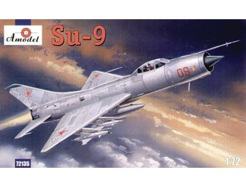 Amodel Su-9 Soviet fighter-interceptor 1:72 (72135)