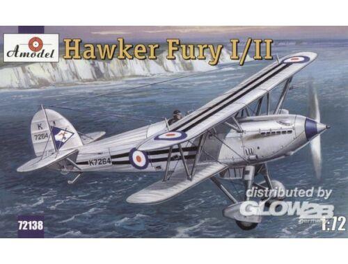 Amodel Hawker Fury I/II USAF fighter 1:72 (72138)