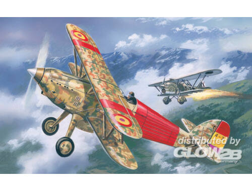 Amodel Hawker Fury Spanish AF fighter 1:72 (72139)