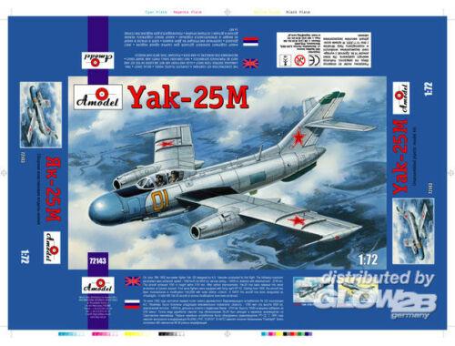 Amodel Yakovlev Yak-25M Soviet fighter 1:72 (72143)