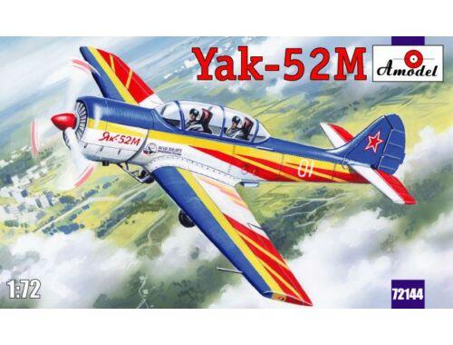 Amodel Yak-52M two-seat sporting aircraft 1:72 (72144)