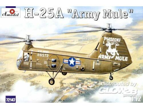 Amodel H-25A 'Army Mule' USAF helicopter 1:72 (72147)