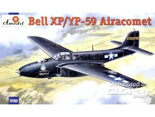 Amodel Bell XP/YP-59 Airacomet USAF fighter 1:72 (72152)