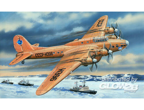 Amodel Pe-8 artic aircraft 1:72 (72155)