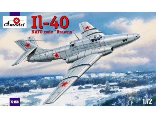 """Amodel Ilyushin IL-40 """"Brawny Soviet aircraft"""" 1:72 (72158)"""
