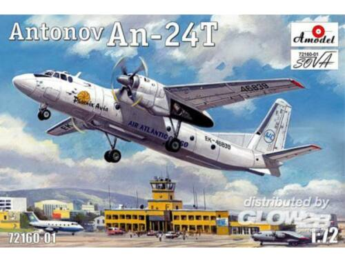 Amodel Antonov An-24T Phoenix Avia 1:72 (72160-01)