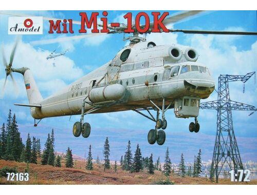 Amodel Mil Mi-10K Soviet 'Flying Crane' heli 1:72 (72163)