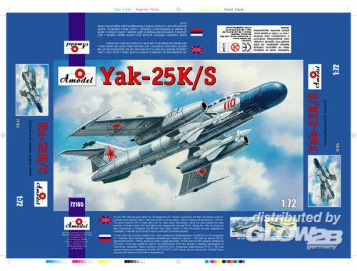 Amodel Yakovlev Yak-25K/S Soviet fighter 1:72 (72165)