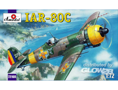 Amodel IAR-80C Romanian fighter 1:72 (72168)