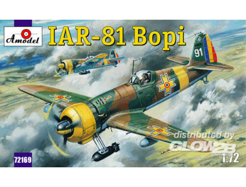 Amodel IAR-81 'Bopi' Romanian fighter 1:72 (72169)