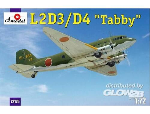 Amodel L2D3/D4 Taddy Japan transport aircraft 1:72 (72175)