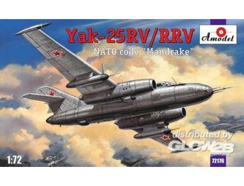 Amodel Yakovlev Yak-25RV/RRV Mandrake sovj.int. 1:72 (72176)